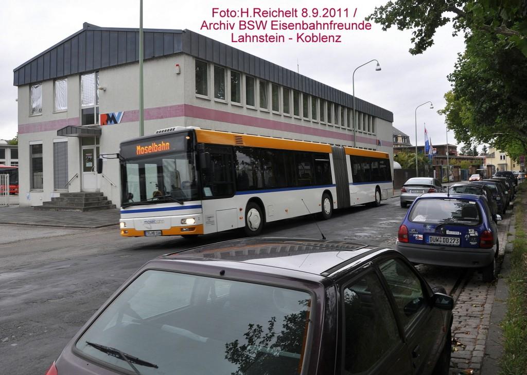 MB Bus in der Holstraße