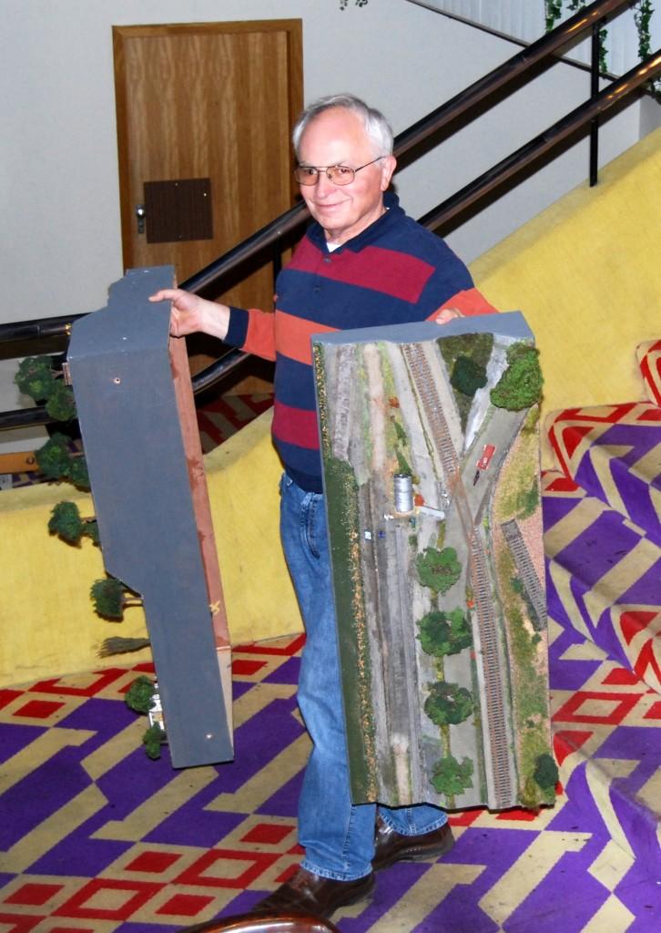 Peter 24-11-207 um 17.18 Uhr nach Schluss der Ausstellung